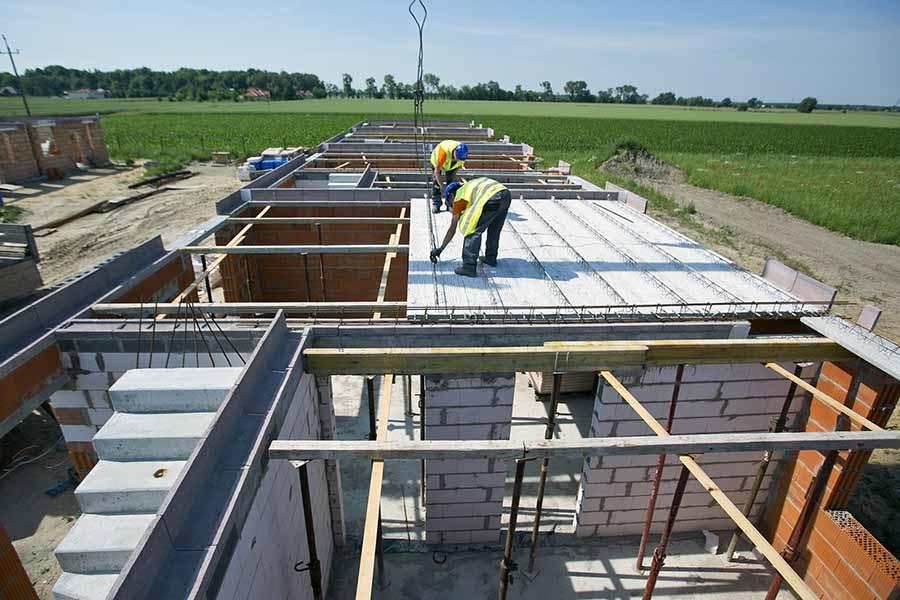 Strop panelowy VECTOR - KONBET Poznań