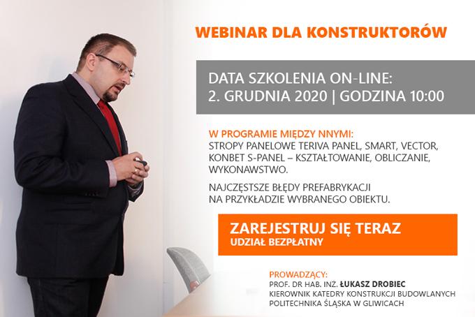 Szkolenie prof. Łukasza Drobca